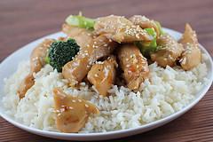 Блюдо из курицы в чесночном соусе