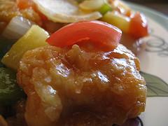 Филе курицы в кисло-сладком соусе