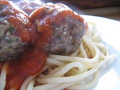 Спагетти с итальянскими фрикадельками